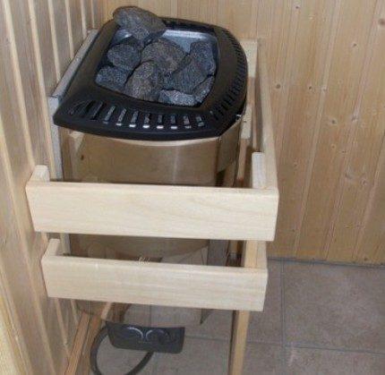 Электрическая печь для домашней сауны