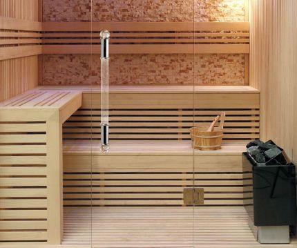 Оборудование для сауны в доме