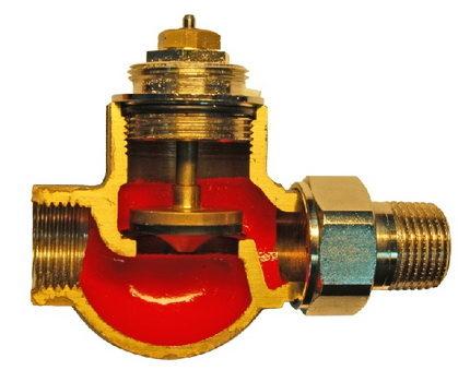 Двухходовой смесительный клапан