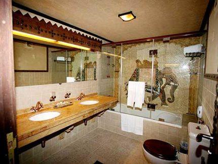 Индийский стиль ванной