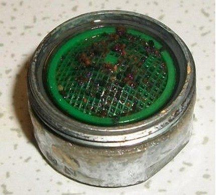 Загрязнение сетчатого фильтра