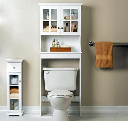 Навесной шкаф в ванную комнату: инструкция как установить