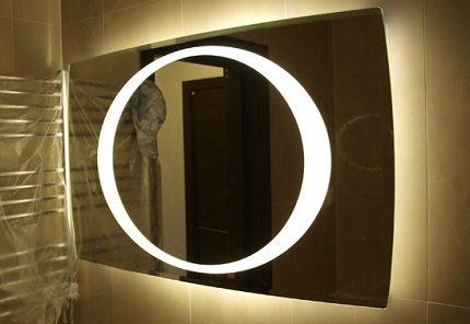 Зеркало, изготовленное на заказ