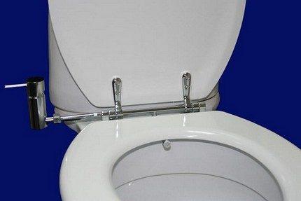 Механическая крышка биде для унитаза