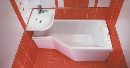Нестандартная ванна