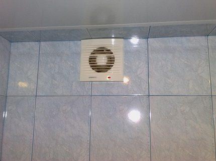 Бесшумный вентилятор в ванной